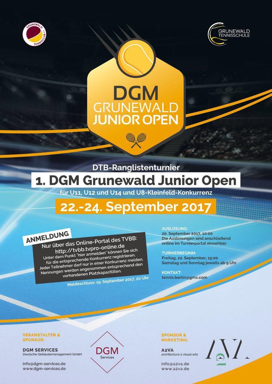 1. DGM Grunewald Junior Open