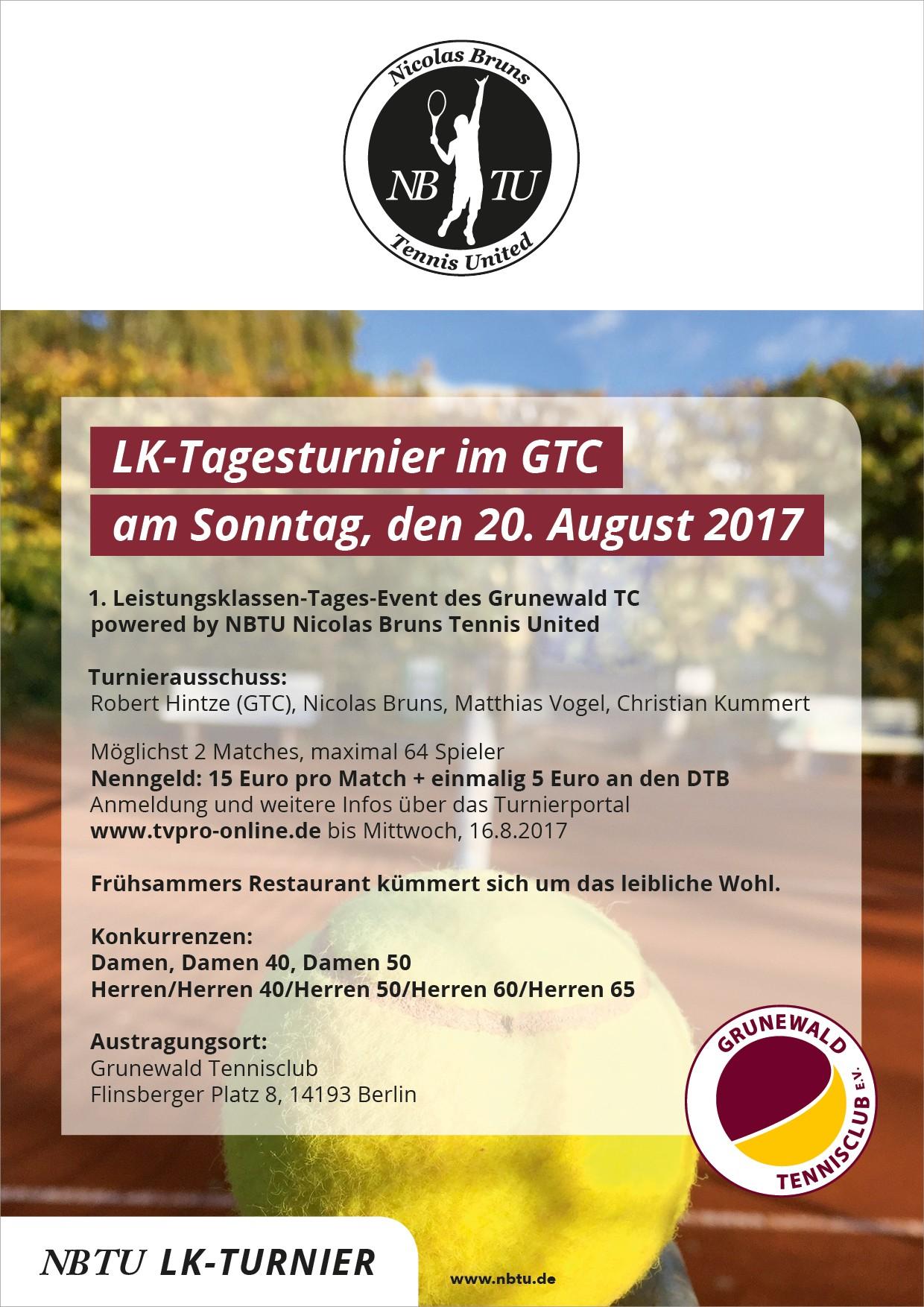 1. LK-Tagesturnier 2017