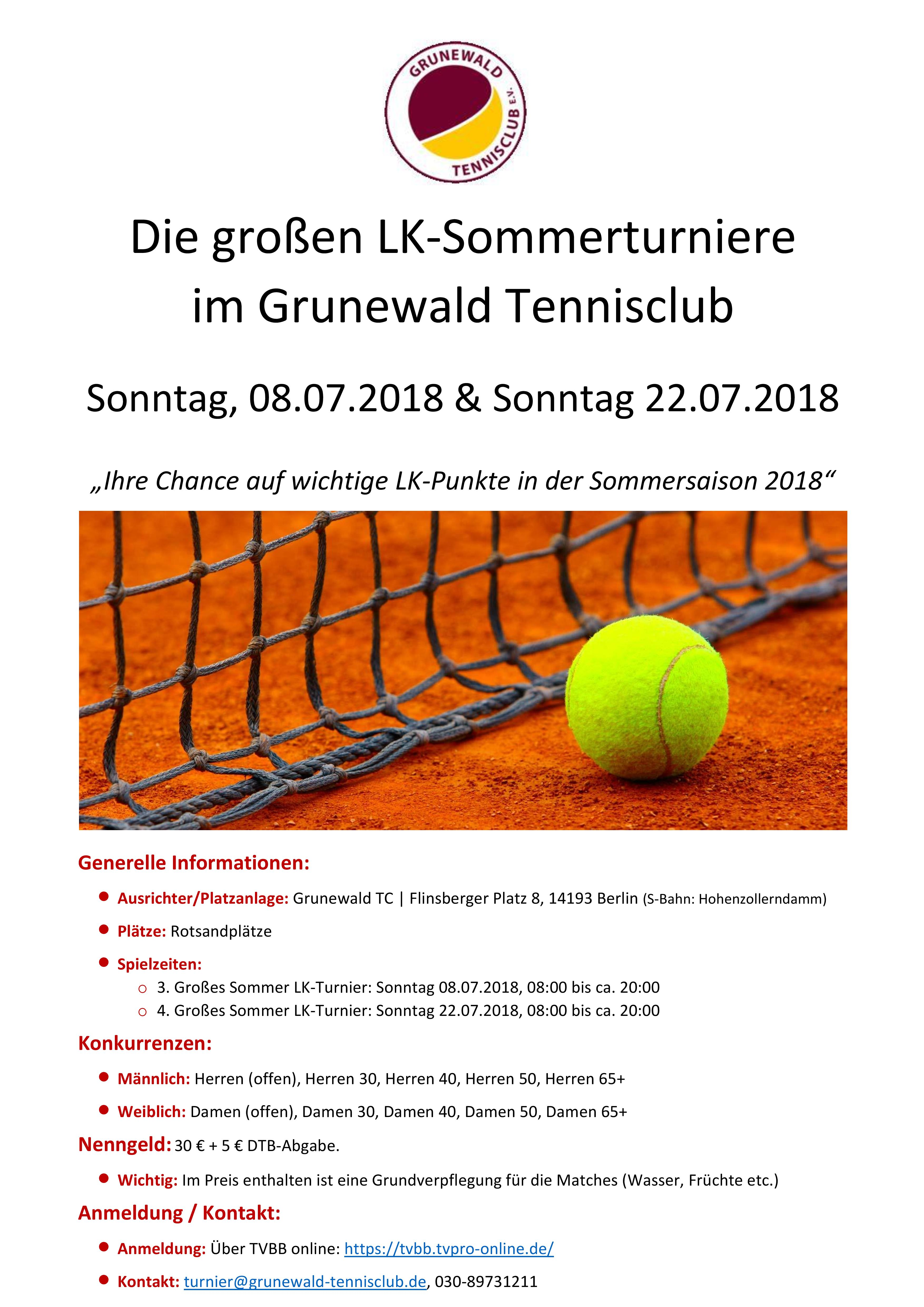 1. LK-Sommerturnier 2018