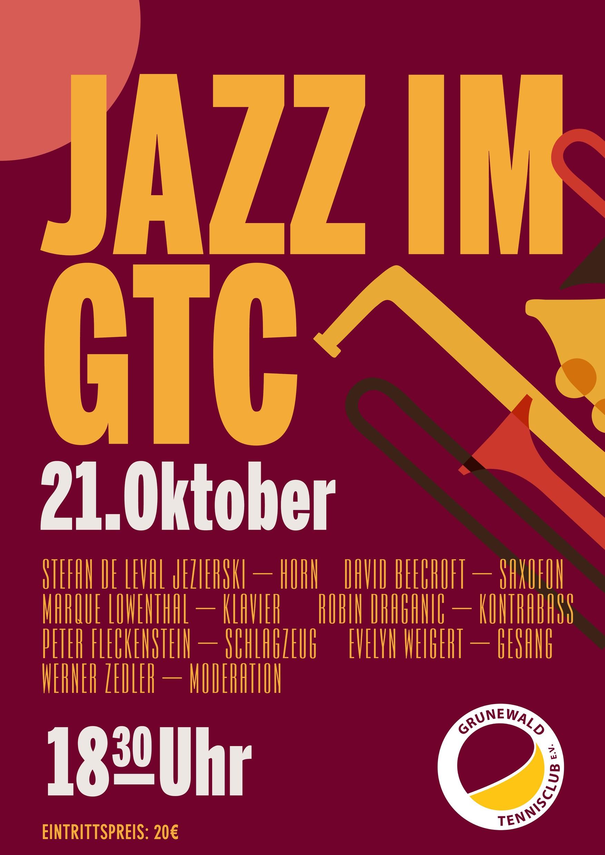Jazzkonzert mit Stefan Jezierski & friends