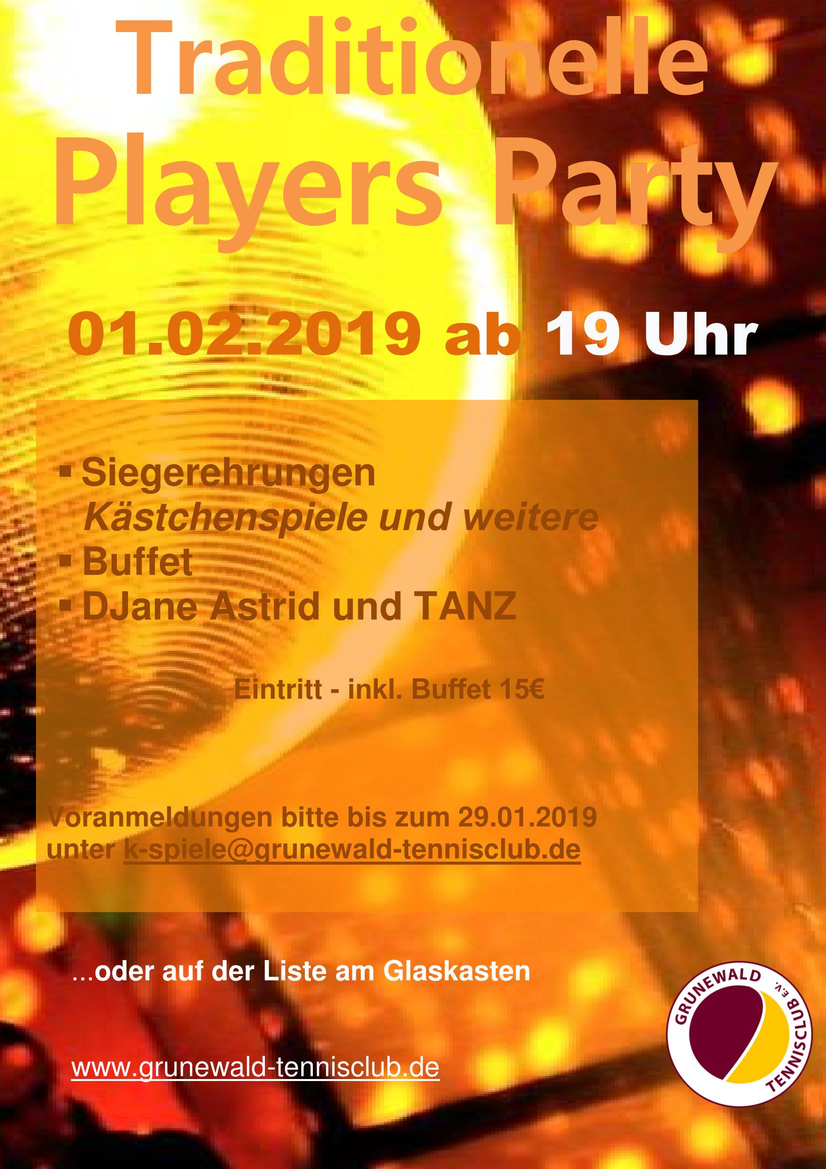 Players Party