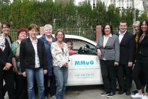 Ambulanter Pflegedienst Berlin GmbH – Medizin, Mensch und Gesundheit MMuG