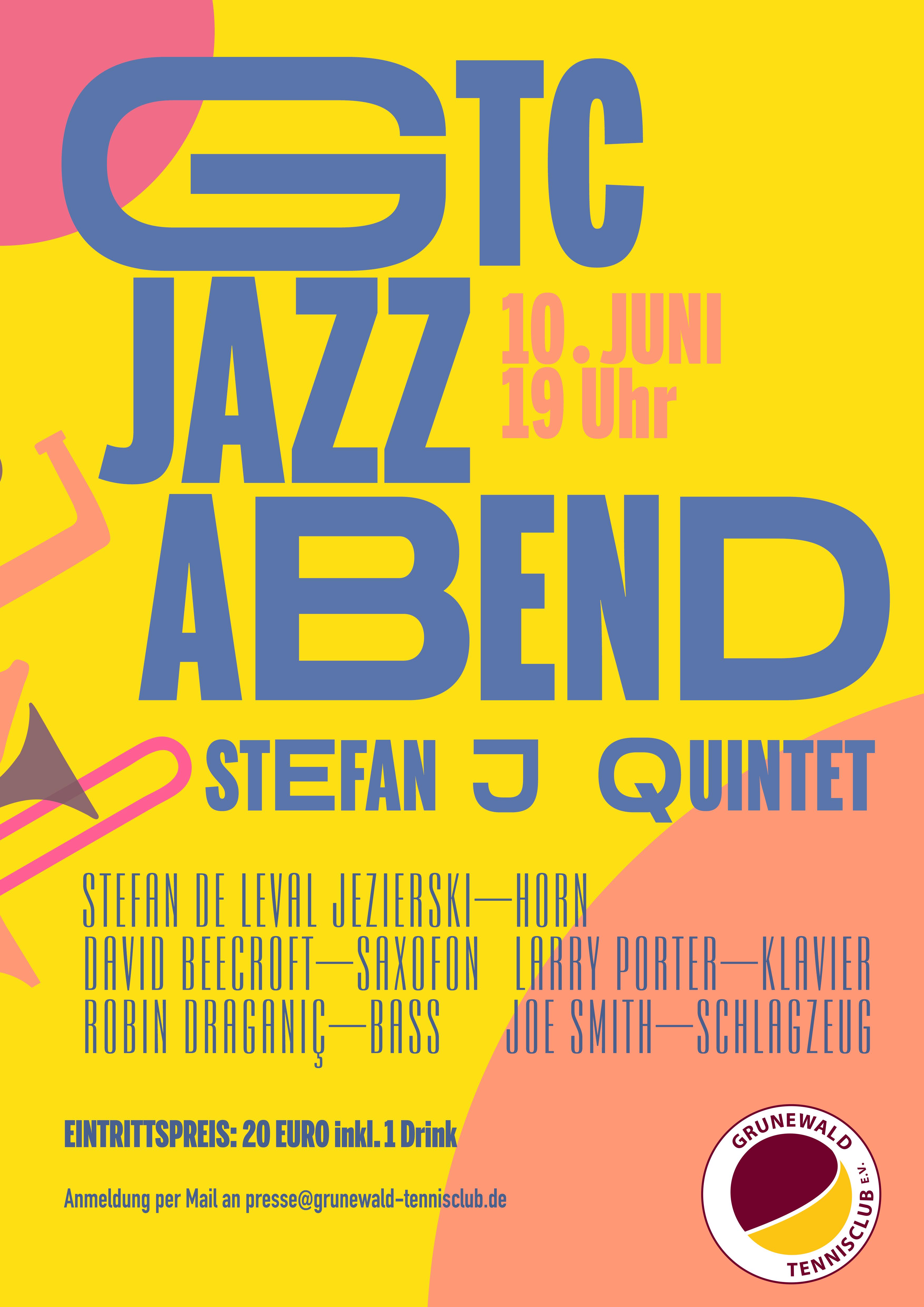 Jazzkonzert - es gibt noch einige Karten