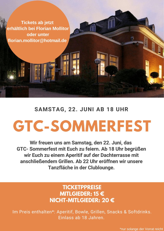 Großes GTC Sommerfest