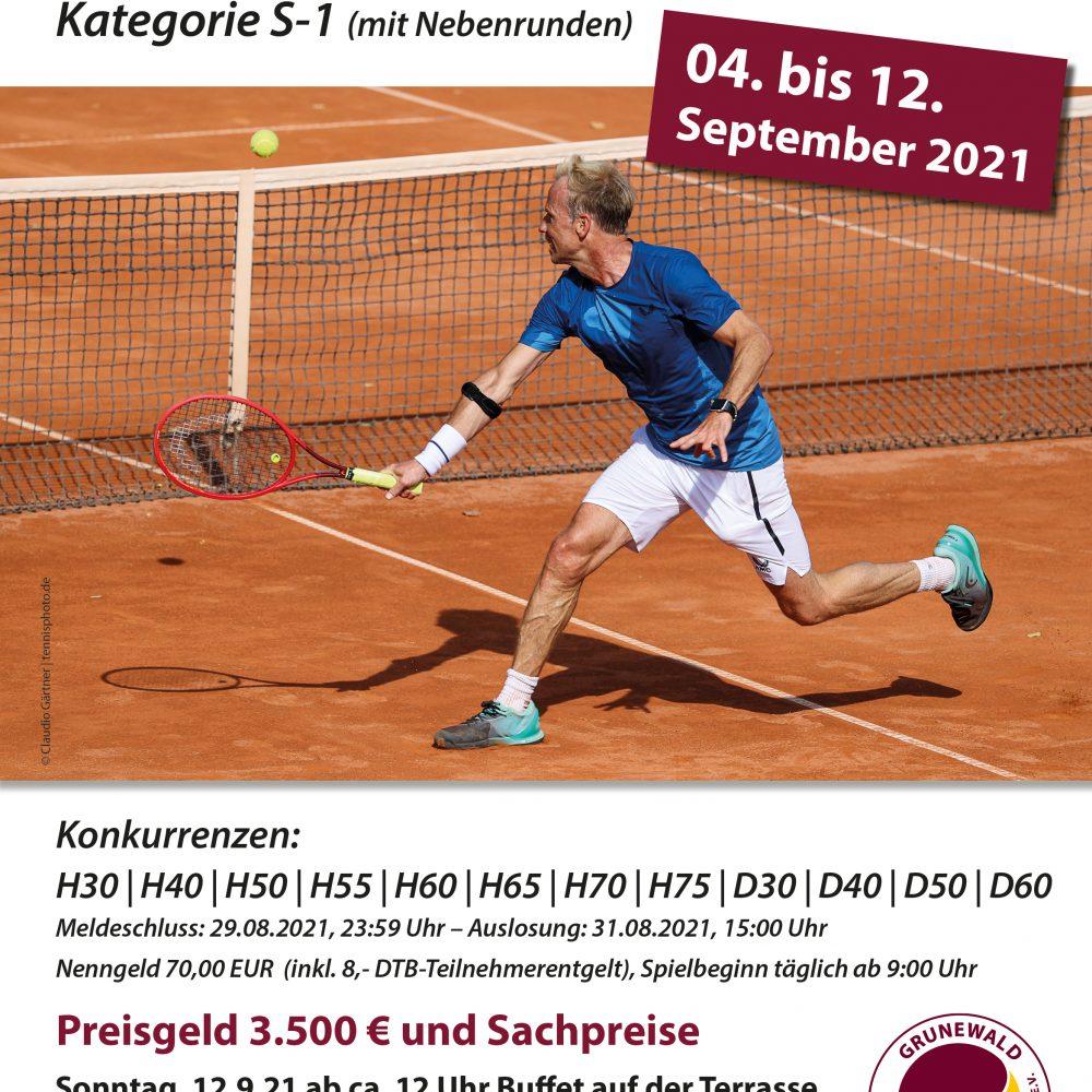 Grunewald Senior Open 2021